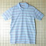 古着ヨーロッパ製 ボーダーポロシャツ