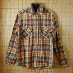 outdoor nylon jacket & Heavy flannel shirt アップいたしました。