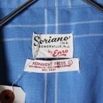 50s-60s vintage box shirt & euro short sleeve shirt