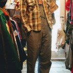70s~ USA Wool & Heavy Flannel Shirt