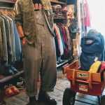 USA Total handle Rayon & Lightweight flannel shirt & Red Wing Work Boots