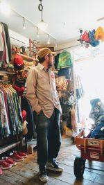 USA Stripe Work Shirts & VANS SK8 Hi Checker