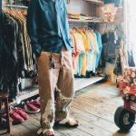 60s Vintage Loop Shirts & BIRKENSTOCK Sandal