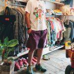LOONEYTUNES Print T-Shirts & Gramicci Shorts