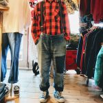USA Buffalo Check Shirt & French Vintage Work Pants