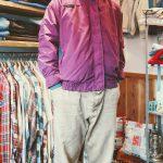 """COLUMBIA BUGABOO """"purple x green"""" 3WAY NYLON & FLEECE JACKET"""