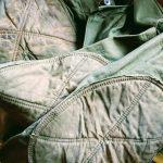 USA 40s-50s Vintage no-collar Hunting Jacket