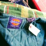 Dickies Quilted lined flannel shirt