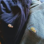 70S FRENCH LACOSTE WOOL-KNIT SWEATER & CARDIGAN