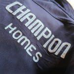 "70s Unitog ""CHAMPION HOMES"" Chain Stitch Work Jacket"