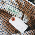 70s-80s LLBean BottanDown Checked Shirt