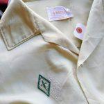 "60s MONTGOMERY WARD ""BRENT"" S/S Open Collar Shirt"