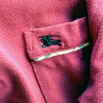 BURBERRY S/S POLO SHIRT Dark Red-COLOR