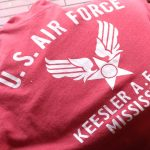 80s SCREEN STARS U.S.AIR FORCE Souvenir S/S Print Tee