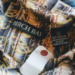 80s BIRCH BAY Total handle Rayon S/S Box Shirt