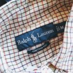 RALPH LAUREN Checked L/S Button Down Shirt