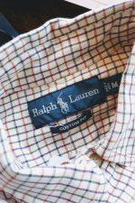 RALPH LAUREN Checked L/S Button Down Shirt
