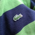 French Lacoste Border L/S Rugby Shirt