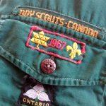 60s Vintage BOY SCOUTS-CANADA L/S Cotton Shirt
