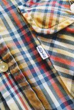 70s Levis Checked Lightweight Flannel Shirt