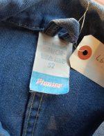 60s-70s Vintage French Herringbone Twill Work Jacket