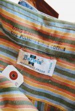 70s Darwin Striped L/S Lightweight Flannel Shirt