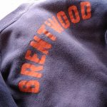 """60s Vintage """"BRENTWOOD"""" Print SweatShirt"""