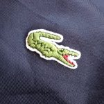 French Lacoste Jersey Jacket