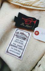 50s-60s Vintage De Long White color Wool Jacket