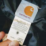 USA Carhartt Hooded Cotton Duck Work Jacket