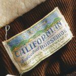 40s-50s Vintage CALIFORNIAN Boa Wool Liner HORSEHIDE Leather Jacket