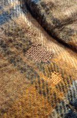60s-70s Vintage Check Wool Jacket