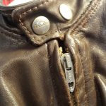 1960s Vintage Brooks Single Riders Leather Jacket