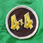 USA 70s-80s King Louie 4x4Patch Nylon Coach Jacket