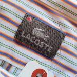 French Lacoste Stripe L/S Shirt