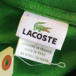 French Lacoste L/S Polo Cotton Shirt