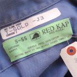 USA REDKAP Cotton S/S Work Shirt