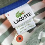 French Lacoste S/S Border Tee