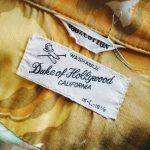 USA 60s Duke of Hollywood S/S Cotton Hawaiian shirt