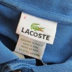 French Lacoste S/S Cotton Polo Shirt