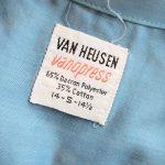 1960s VAN HEUSEN Open Collar S/S Shirt