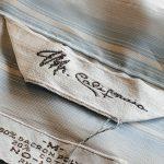 60s Mr.California Open Collar S/S Stripe Shirt