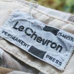 60s 70s LeChevron S/S Block Check Shirt