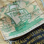 "40s 50s UTICA DUXBAK CORP ""TOPS'LE CLOTH"" Hunting Vest"