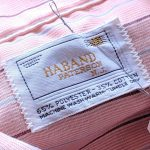 1960s-70s HABAND S/S Striped Box Shirt