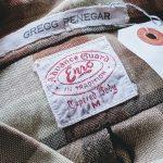 USA 70s Enro Check L/S Button-down Shirt