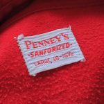 50s Penney's L/S Heavy Weight Flannel Work Shirt