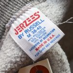 USA 70s-80s JERZEES L/S Plain SweatShirt