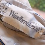 USA Windbreaker Zip-up Reversible Nylon/Cotton Jacket