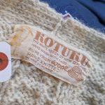 New Zealand KOTUKU Hand Knitted Fisherman Wool Cardigan